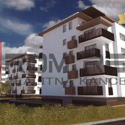NOVÝ Projekt SEVERKA - 2 izbový byt s balkónom 02-302