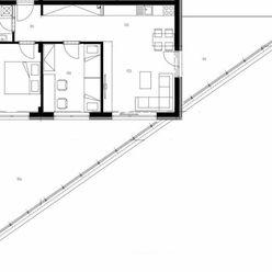 Na predaj 3 izbový byt - apartmán s dvoma terasami a vysokými stropmi v jedinečnej novostavbe v Mala