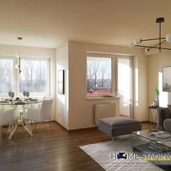 Trojizbový byt s veľkorysou výmerou.