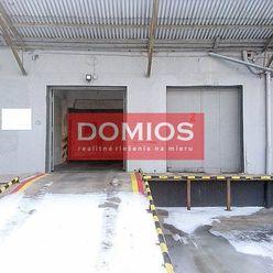 Prenájom výrob. priestorov (440 m2, vjazd. rampa, kancel., parking, E24)