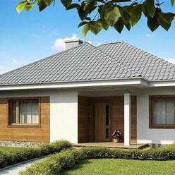 Nízkoenergetický  3-izb. bungalov  na 5,5 á pozemku, Malý raj