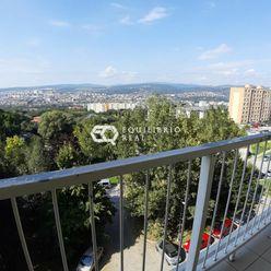Predaj 1 izb.bytu s úžasným výhľadom na mesto.