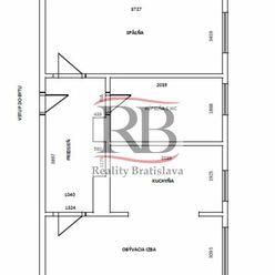 Na prenájom slnečný 2-izbový byt na Sibírskej ulici v Novom Meste, BAIII