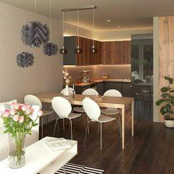 Predaj 3 izbového bytu so záhradou v štandarde za cenu holobytu.