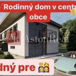 PREDAJ: Moderný, nový 4i RD s veľkorysým obytným priestorom v Beluši.