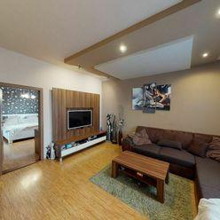 3D prehliadka, Kompletná rekonštrukcia, 3-izbový byt v Tehlovom dome, Chemická ul ., Bratislava-III