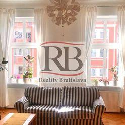 Na prenájom zrekonštruovaný a kompletne zariadený 2-izbový byt na Špitálskej ulici, BAI
