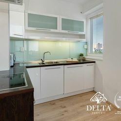 DELTA   1 izbový byt s balkónom na ulici Kazanská, Bratislava - Podunajské Biskupice, 42 m2