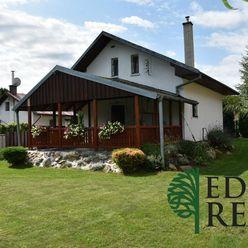 REZERVOVANÉ - Predaj 4 izbovej rekreačnej chaty v malebnej záhradkárskej oblasti