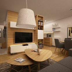 3izbový byt s balkónom a výťahom - novostavba KUNERAD