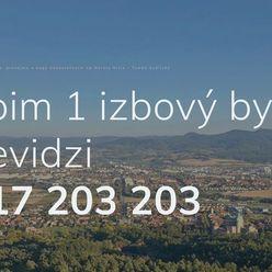 Kúpim 1 izbový byt v Prievidzi - ponúknite