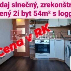 AstonReal: predaj zrekonštruovaný 2i byt 54m2 s loggiou v Levoči