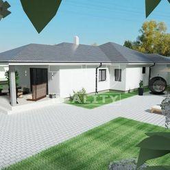 TOP LOKALITA! Novostavba 4i rodinného domu Rišňovce s výmerou 210 m2 s dvojgarážou a pozemkom o výme