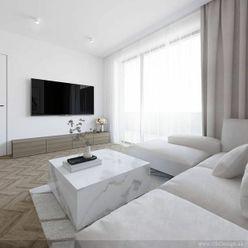 Na predaj 4 izbový byt - apartmán s dvoma balkónmi, dvoma kúpeľňami orientovaný na tri svetové stran