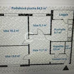 AG REALITY I Na predaj 3 izbový byt s krásnym výhľadom v peknom prostredí Vrakune
