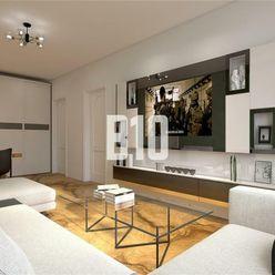 začiatok Rače-3izb. byt s nádherným výhľadom na BA, čiastočná rekonštrukcia