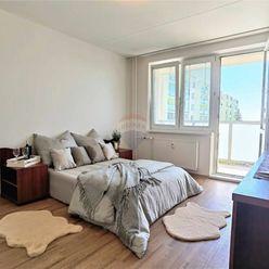 =RE/MAX= Na predaj veľký 2 izbový zrekonštruovaný byt, Linčianska