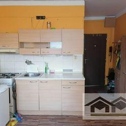 Vo výbornej lokalite na prenájom zariadený 1 izbový byt Nitra Chrenova,Nábr.Mládeže