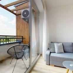 Dvojizbový byt s balkónom a krásnym výhľadom / Kukučínova - Čierna Voda