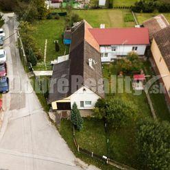 PREDAJ: Vidiecky dom s dvomi izbami, pivnicou, garážou, terasou a záhradou, 112 m2, obec Benice, okr