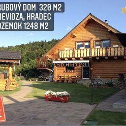 Predaj: ZRUBVÝ DOM, 320 m2, Prievidza