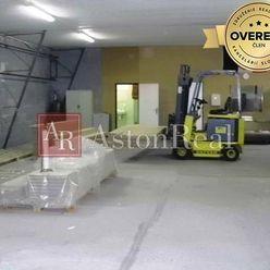 NÁJOM: Výrobno-skladová hala - vykurovaná, 400 m2, Banská Bystrica