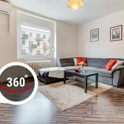 AXIS REAL:: ZARIADENÝ 3-izbový byt, KLÍMA, BA II. Ružinov, Prievozská