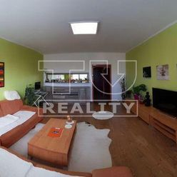 REZERVOVANÉ EXKLUZÍVNE u nás pekne prerobený 3,5 izbový byt 82 m2 + balkón na sídl. Ťahanovce, Beleh