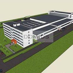 Predaj výrob. areálu (14.400 m2, poz. 26.000 m2, nakl. rampy, parking)