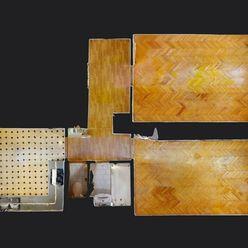 NA PREDAJ - Slnečný 2 izbový byt s veľkou výmerou vhodný na prerábku podľa vlastnej fantázie v meste