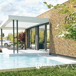 Na predaj 2- izbová ekologická montovaná novostavba domu SMALLVILLE