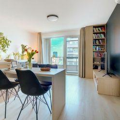 DIZAJNOVÝ BYT,2 i., zariadený, NOVOSTAVBA, 750€ VRÁTANE E a PARKINGU, Urban Residence. 3D PREHLIADKA