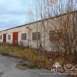 DELTA -Výrobno-skladovacie priestory na predaj Markušovce