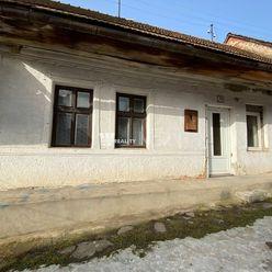 Dom v pôvodnom stave s veľkým pozemkom za 29 900 €!!!