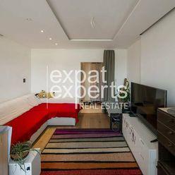 Svetlý 3i byt, 64 m2, zariadený, balkón