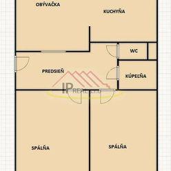 Predaj 3i kompletne prerobeného bytu na Trnavskej ul.
