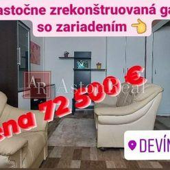AstonReal: predaj garsónka 27 m2, Bratislava IV - Devínska Nová Ves