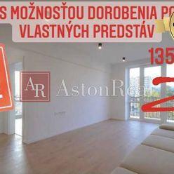 5-izbový byt s možnosťou dorobenia na mezonet podľa predstáv záujemcu