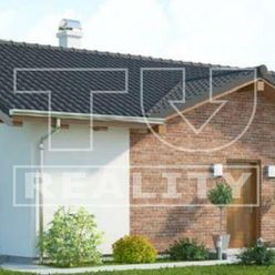 Pripravujeme do ponuky novostavbu 3 izbového bungalovu, pozemok 770 m2, Smolenice, okr. Trnava