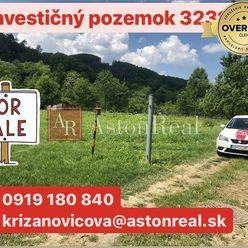 Investičný rovinatý pozemok v intraviláne- Púchov 3231 m2