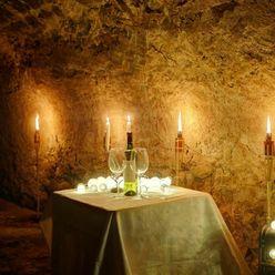 Pozemok s kamennou pivnicou pri Leviciach