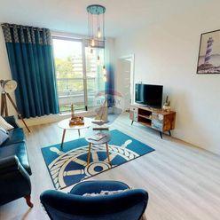 Priestranný 2 izbový byt v Mlynskej doline, pri galérii CUBICON.
