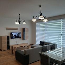 Zariadený 3-izbový byt v novostavbe na Nábrežnej ul. na prenájom