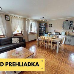 Útulný 4 izbový rodinný dom s garážou,  pozemok 600 m2 len 15 min od mesta NITRA