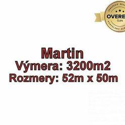 MARTIN - pozemok 3200m2