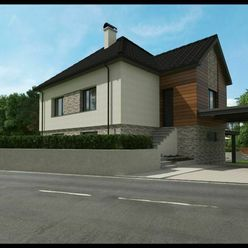 Rodinný dom / chalupa v okrajovej obci MOROVNO, VIZUALIZACIA MOŽNEJ rekonštrukcie