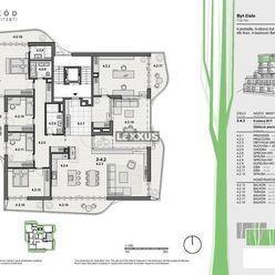 LEXXUS-PREDAJ, 6-izbový penthouse v projekte VILLA RUSTICA-TERASY 2