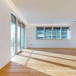 POD BÔRIKOM - 4 izbový byt s predzáhradkou a bazénom E1 / vzorový byt