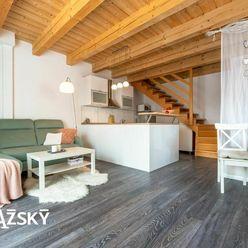REZERVOVANÉ ꓲ 3i byt ꓲ 83 m2 ꓲ HRADSKÁ ꓲ útulný byt so záhradkou a parkingom v rodinnom dome