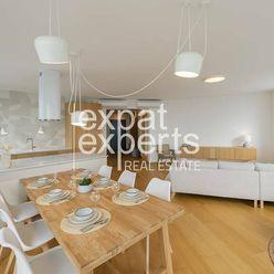 Krásny, svetlý 3i byt, 93 m2, čiastočne zariadený, Panorama City